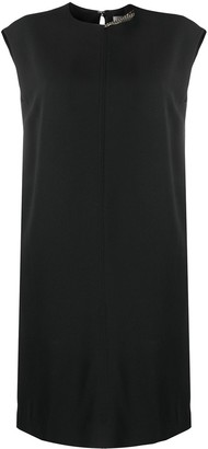 Victoria Beckham Chain-Detail Shift Dress