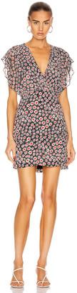 Saloni Brooke Dress in Batik Dot | FWRD