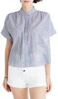 Madewell Women's Embroidered Hilltop Shirt