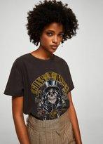 MANGO Guns N' Roses t-shirt