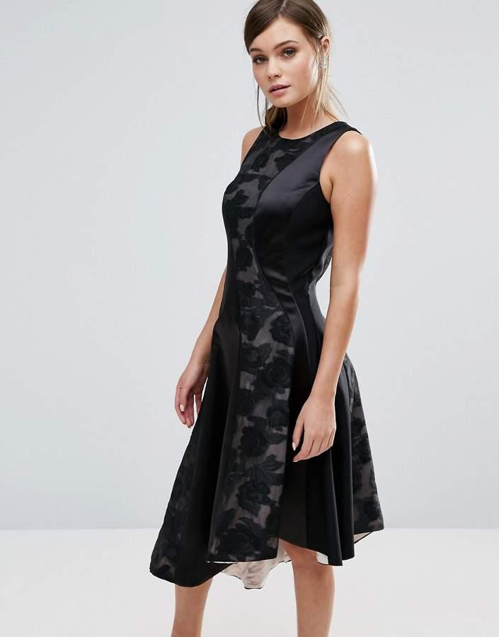 Coast Wendal Asymetric Panel Dress