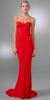 Corset Strapless Gown
