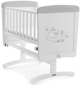 Disney Winnie The Pooh Gliding Crib & Mattress - Dreams