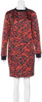 Dries Van Noten Quilted Mini Dress