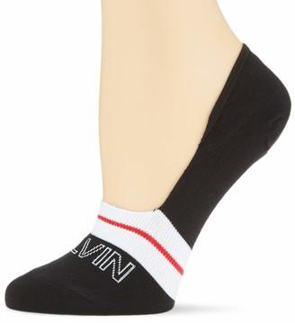 Calvin Klein Women's liner1p Modern Logo kaitie Socks