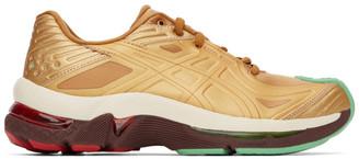KIKO KOSTADINOV Gold Asics Edition Gel-Teserakt Sneakers