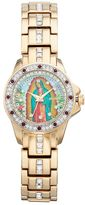 Elgin Women's Cubic Zirconia Our Lady of Guadalupe Watch