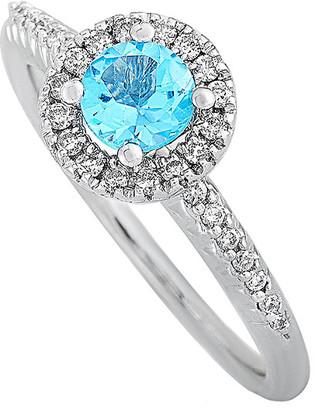 Generic Gemstones 14K 0.95 Ct. Tw. Diamond & Topaz Ring