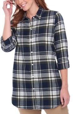 Barbour Windbound Plaid Cotton Shirt