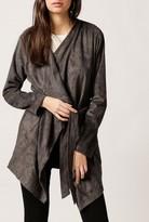 Azalea Long Suede Jacket