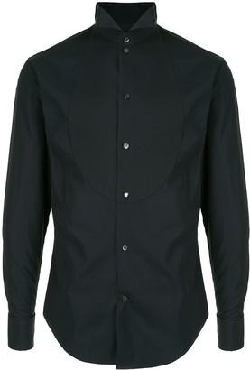 Emporio Armani Tonal-Bib Dress Shirt