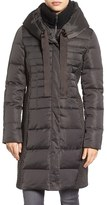 Tahari Women's Quinn Down & Feather Coat