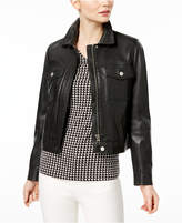 Max Mara Calcina Leather Jacket