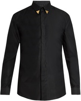Givenchy Contemporary-fit collar-tipped single-cuff shirt