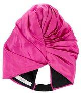 Prada Satin Pleated Turban