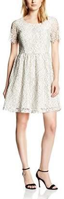 Minimum Women's Renee Skater Floral Short Sleeve Dress,(Manufacturer Size:38)