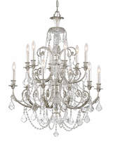 Swarovski Crystorama Regis 12-Light Chandelier