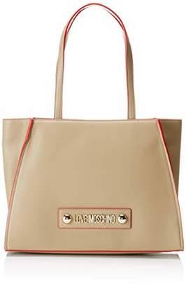 Love Moschino Borsa Soft Grain Pu, Women's Top-Handle Bag,12x27x37 cm (W x H L)