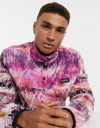 Mossimo Softek polar fleece in pink multi