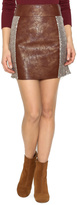 Miss Me Copper Sequined Skirt