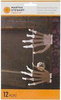 Martha Stewart Crafts Dimensional Silhouettes Gothic Manor Skeleton