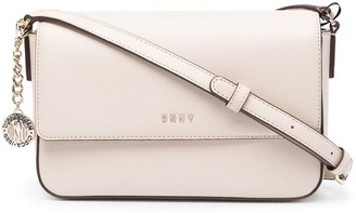 DKNY Hanging Logo Plaque Crossbody Bag