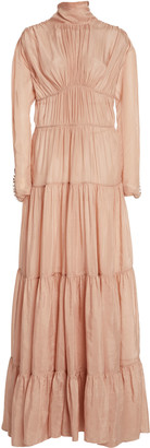 Jonathan Simkhai Harley Tiered Gown