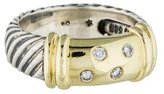 David Yurman Two-Tone Diamond Ring
