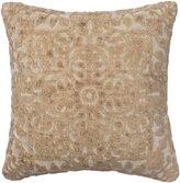 Loloi DSETGPI12CR00PIL3 DSET Cream Decorative 100-Percent Viscose Accent Pillow with Down Fill