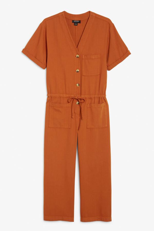 Thumbnail for your product : Monki Denim jumpsuit