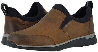 Johnston & Murphy Waterproof Prentiss XC4(r) Casual Slip-On (Tan Oiled Waterproof Full Grain) Men's Shoes
