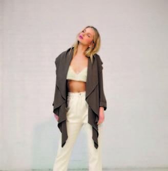 Jovonna London Green Loda Jacket - extra small