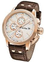 TW Steel 'CEO Adesso' Quartz Stainless Casual Watch, Color:Brown (Model: CE7013)