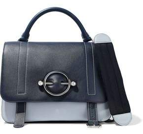 J.W.Anderson Disc Large Leather And Suede Shoulder Bag