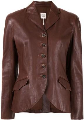 Hermes Pre-Owned Slim Leather Jacket