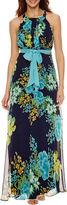 R & K Originals Sleeveless Maxi Dress-Petites
