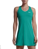 Nike Tennis Women's Court Pure Semi-Fitted Dress Green 728736-389