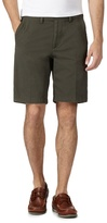 Maine New England Big And Tall Olive Chino Shorts