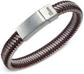 Steve Madden Men's Two-Tone Cord Bracelet