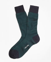 Brooks Brothers Herringbone Crew Socks