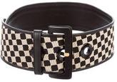 Etro Square Patterned Waist Belt
