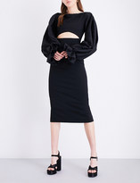 SOLACE London Darcy crepe dress