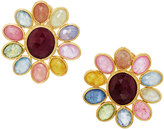 Marco Bicego Siviglia 18k Multicolored Sapphire Flower Button Earrings