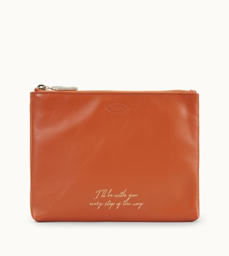 Tod's Tods Flat Pouch in Leather