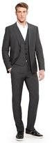 HUGO BOSS Arant/Won/Hixby Slim Fit, Super 100 Virgin Wool 3-Piece Suit - Charcoal