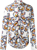 Marni Whisper print shirt - men - Cotton - 46