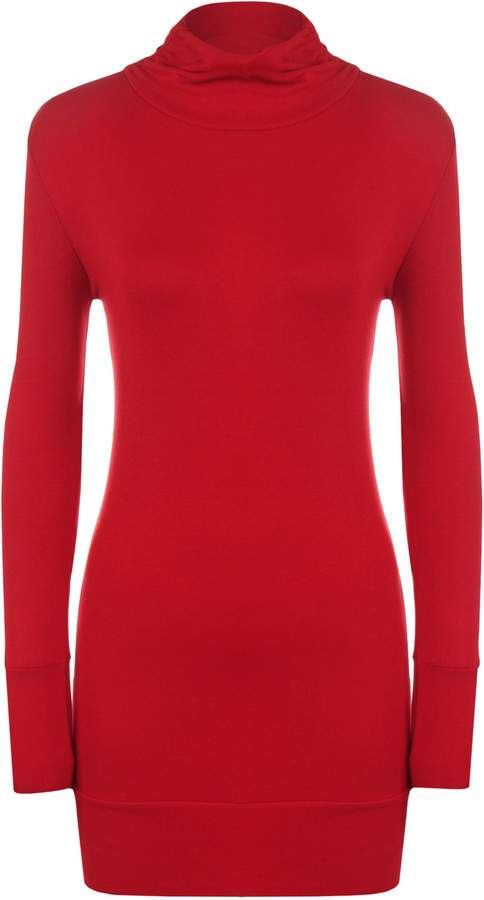 acbd3c1f4e0 Red Turtle Neck Top - ShopStyle Canada