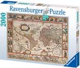 Ravensburger Map of the World From 1650