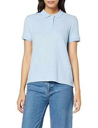 Tom Tailor Women's Strukturiertes Polo Shirt,X-Large