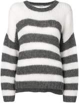 P.A.R.O.S.H. striped knit jumper